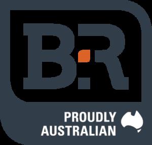 B & R Enclosures logo